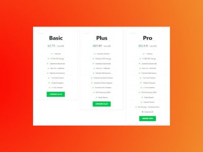 How to Create a Beautiful Pricing Table in  WordPress for Free Using Elementor